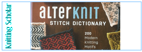 Review: Alterknit Stitch Dictionary post image