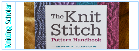 Review: The Knit Stitch Pattern Handbook post image